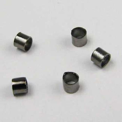 BLP001 - 2x2mm Crimp Tube, Gunmetal Plated (pkg of 100)