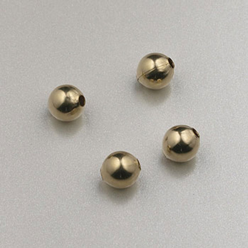GF0003 - 4mm Round, Gold-Fill (pkg of 25)