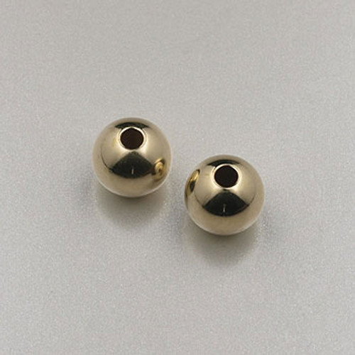 GF0005 - 6mm Round, Gold-Fill (pkg of 25)
