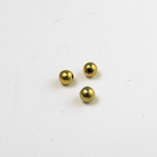 GP0188 - 3mm Memory Wire Ball End, Gold-Plate (pkg of 12)