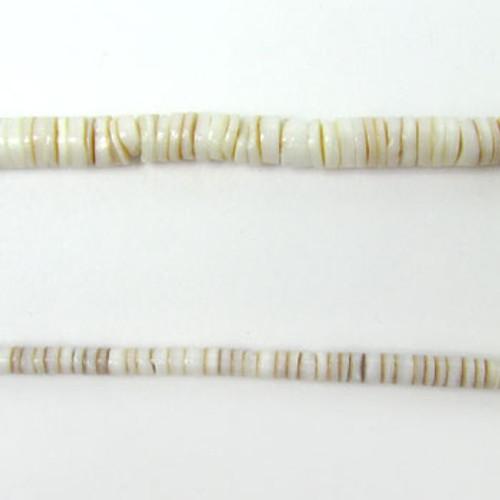 """HB0007 - Conus Heishi Beads (24"""" strand)"""
