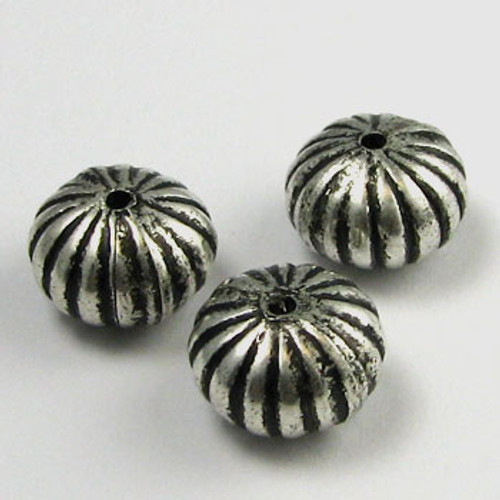 SP0015 - 10mm Carved Rondelle (pkg of 25)