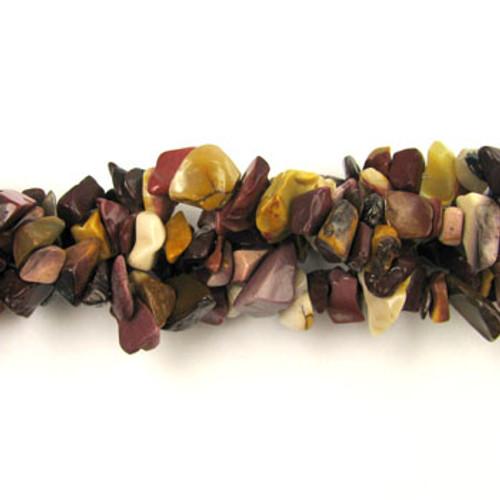 SPSC023 - Mookaite Semi-Precious Stone Chips (36 in. strand)