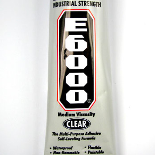 TO0076 - E6000 Industrial Strength Adhesive (1.0 fl oz Pkg) (Clear)