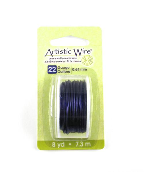 STR0179 - Purple, 22 Gauge Artistic Wire (8 yd spool)