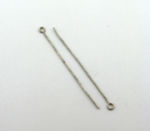 "ASP020 - 2"" 20ga Eyepin, Antique Silver Plated (pkg of 50)"