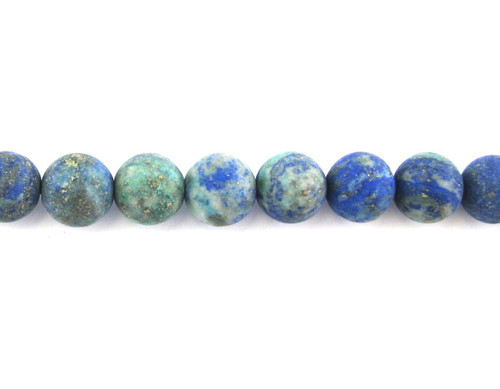 SPS0057 - Matte Chinese Azurite, Round (Approx. 15 in.)