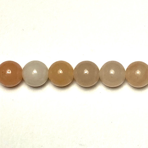 SPS0027 - Pink Aventurine, Rounds (Approx. 15 in.)