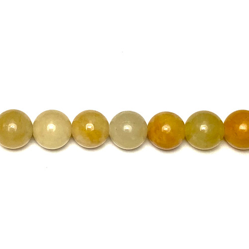 SPS0028 - Yellow Aventurine, Rounds (Approx. 15 in.)