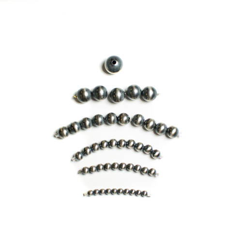 Navajo Sterling SIlver Pearls