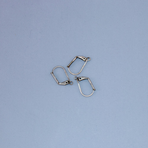 ASP026 - Leverback Earrings, Antique Silver Plated (pkg of 10)