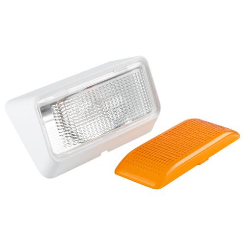 RV Exterior Porch Utility Light - 12v Lighting Fixture Kit with Bulb