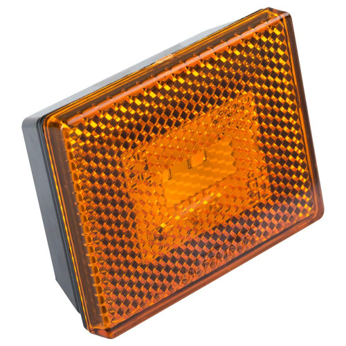 Reflector/Clearance LED Marker Light w/ Stud Mount