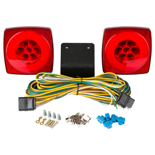 "HALO LED Submersible Under 80"" Trailer Light Kit"
