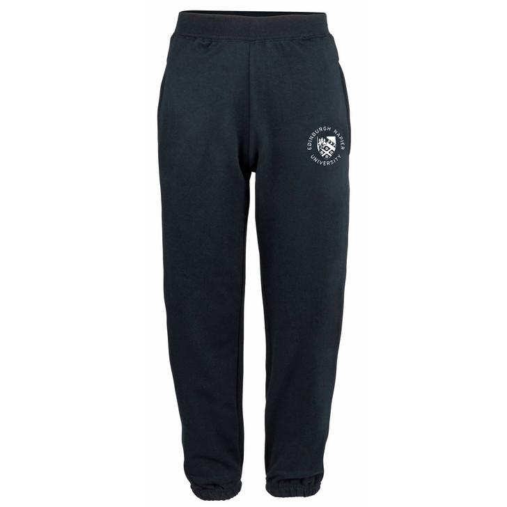 Napier Pocket Crest Cuffed Sweatpants - Navy