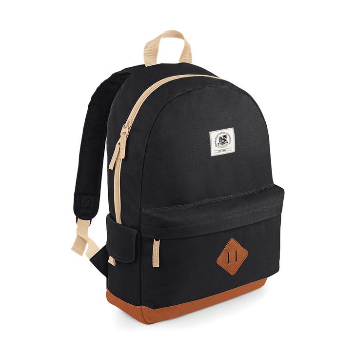 Edinburgh Napier Heritage Backpack - Black