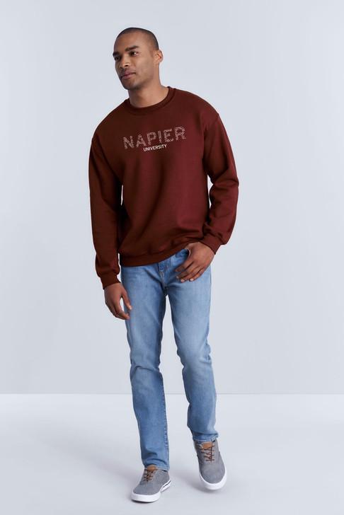 Napier University Bones Sweatshirt - Maroon