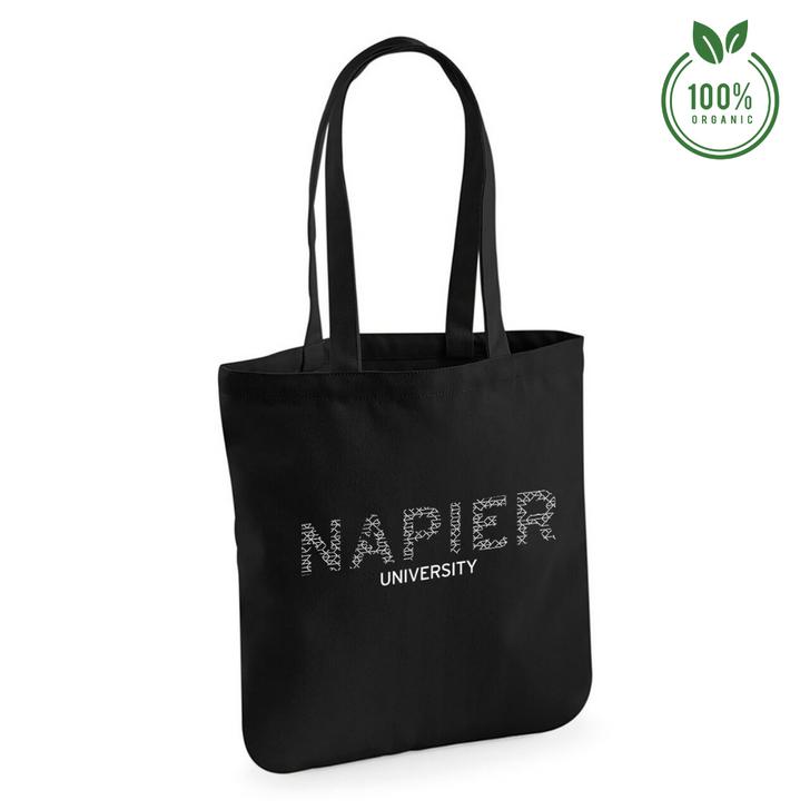 Napier University Bones Organic Tote Bag