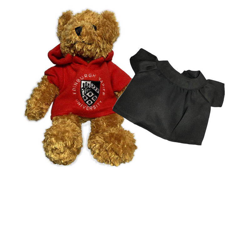 Napier Red Teddy Bear with Graduation Gown