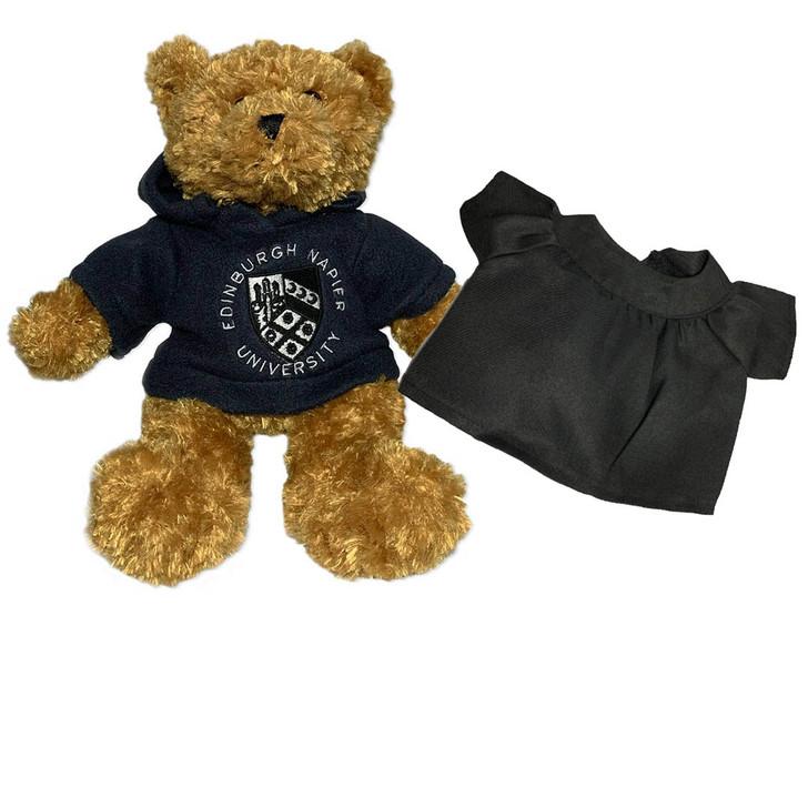 Napier Navy Teddy Bear with Graduation Gown
