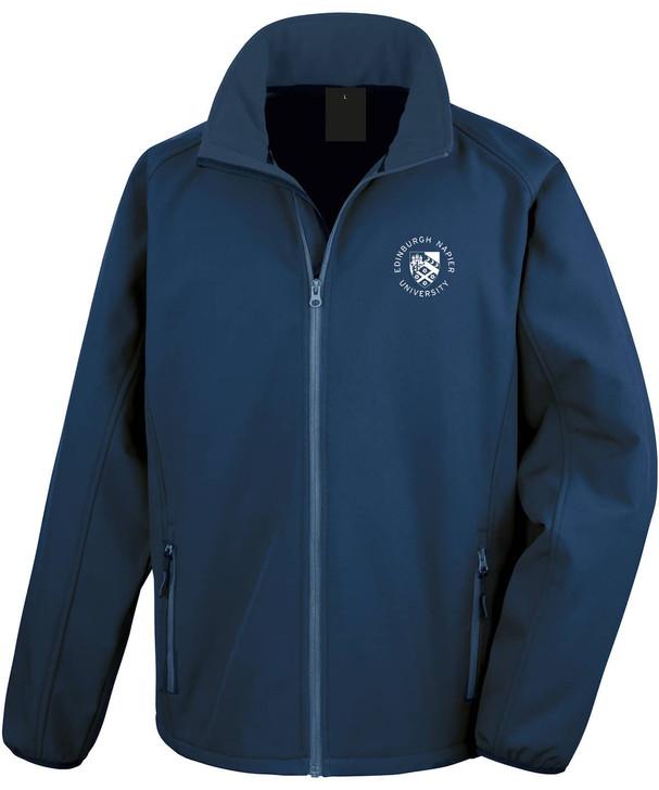 Napier Pocket Crest core softshell jacket
