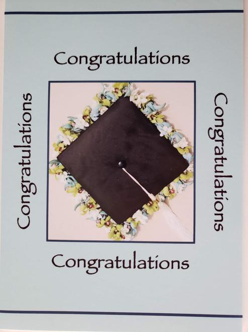 Blue Congratulations