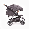 Easy Twin 3.0 Texas Limited Edition Silver/Tan Plus Carrycot Bundle