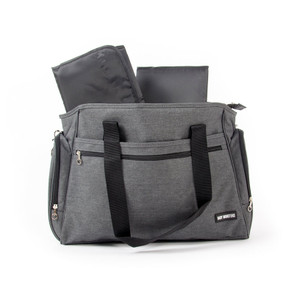 Nappy Bag Twin - Grey