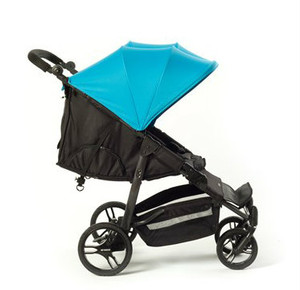 Easy Twin Plus Carrycot Bundle Blue EX DISPLAY MODEL