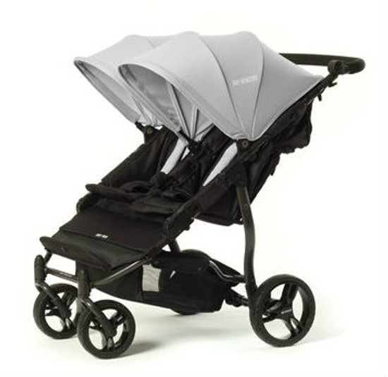 Easy Twin Plus Carrycot Bundle Grey EX DISPLAY MODEL