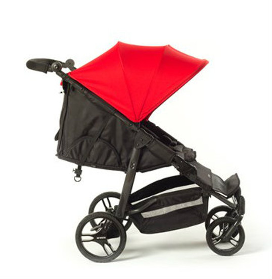 Easy Twin Plus Carrycot Bundle Red EX DISPLAY MODEL