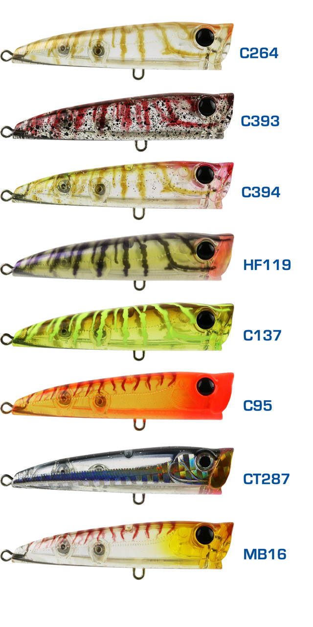 Bassday Backfire 65mm Popper - Tackle World Adelaide Metro