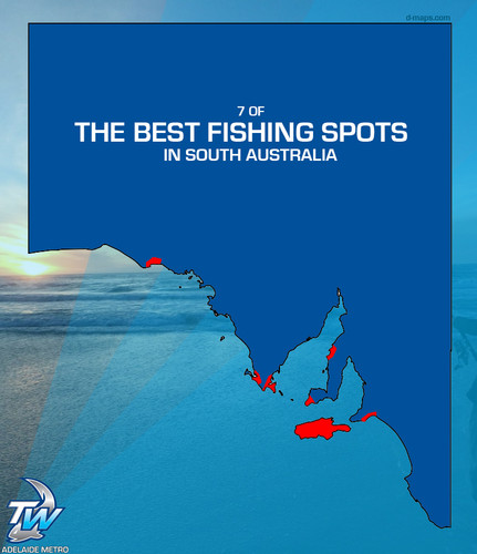 7 of the Best Fishing Destinations in South Australia.