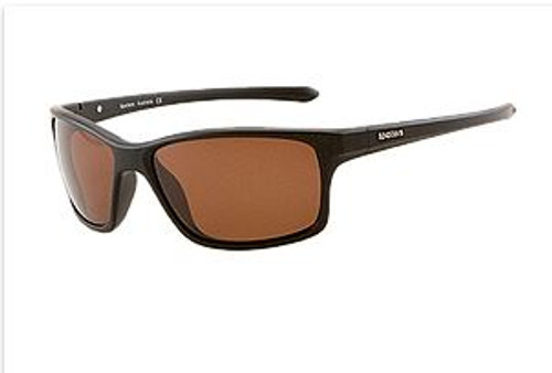 Spotters Grit Junior Matte Black Crown Glass Sunglasses