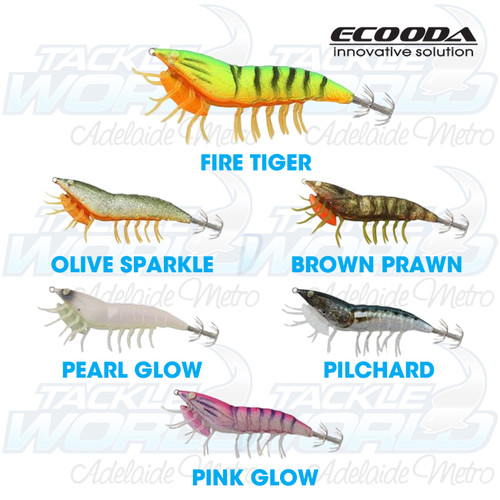 Ecooda Live Prawn Squid Jag **CLEARANCE**