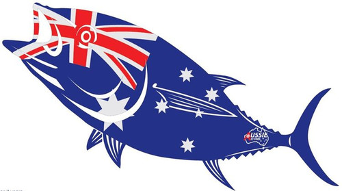 Aussie Icons Fish Stickers - Southern Bluefin Tuna