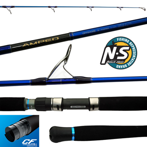 N.S Amped Offshore Spinning Rods