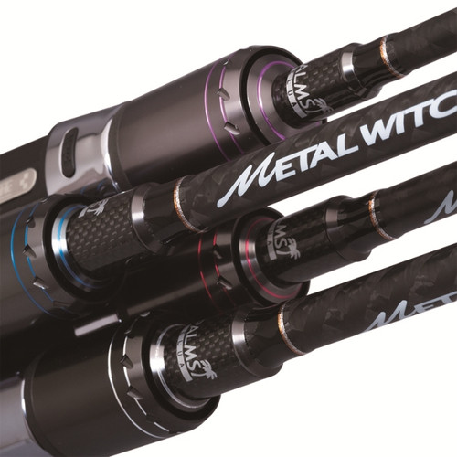 Palms Metal Witch Quest Spinning Rod