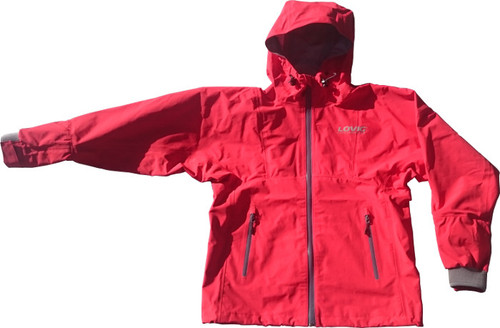 Lovig Hooded Dry Top Red