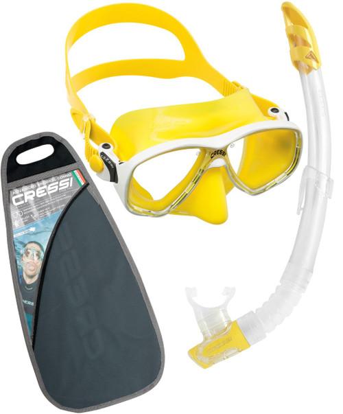 Cressi Marea VIP Mask Snorkel Set