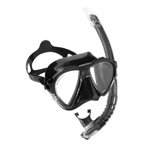 Cressi Matrix Gamma Mask Snorkel Set