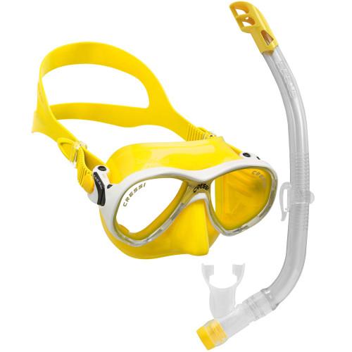 Cressi Marea VIP Junior Mask Snorkel Set