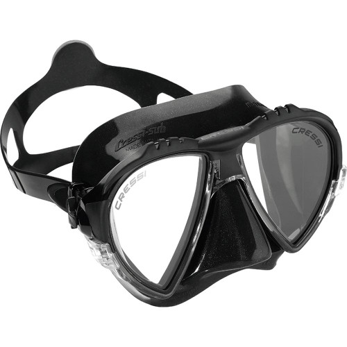 Cressi Matrix Dive Mask Black/Black Frame
