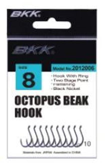 BKK Octopus Beak Black Nickel (25 Pack)