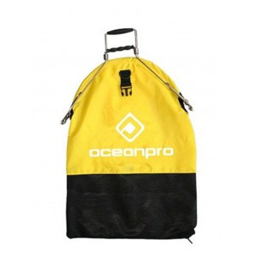 Ocean Pro Spring Loaded Catch Bag Yellow