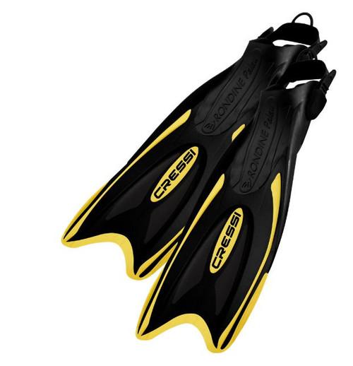 Cressi Palau LAF Open Heel Fins Yellow