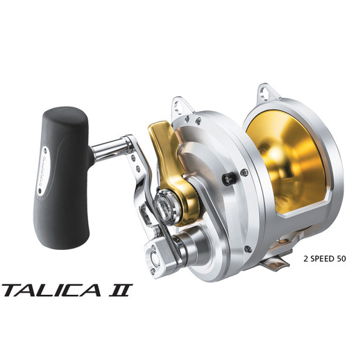 Shimano Talica 2 Speed 25 Mono Cam Overhead Game Reel