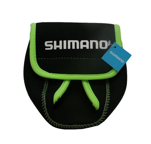 Shimano Spinning Reel Covers - Black/Green