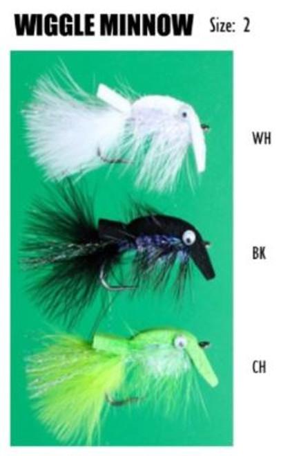 Felty's Flies Wiggle Minnow Size 2