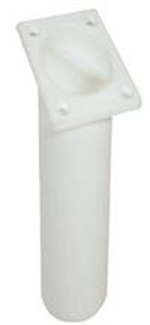 Waterline Angled Plastic Rod Holder - White